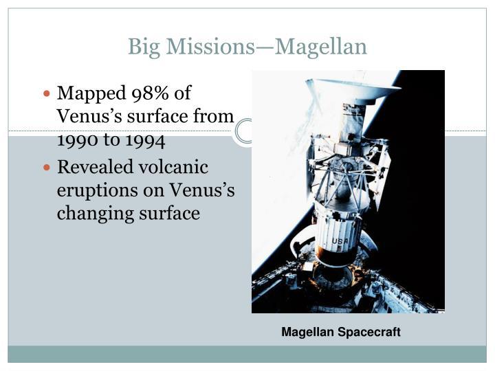 Big Missions—Magellan