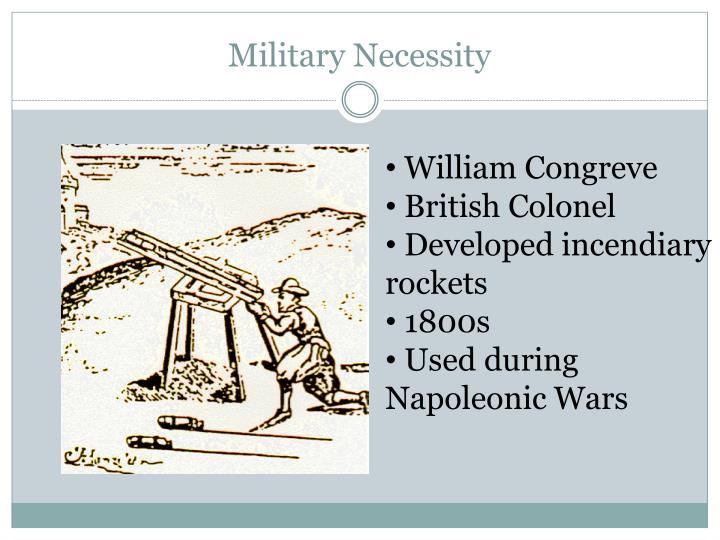 Military Necessity
