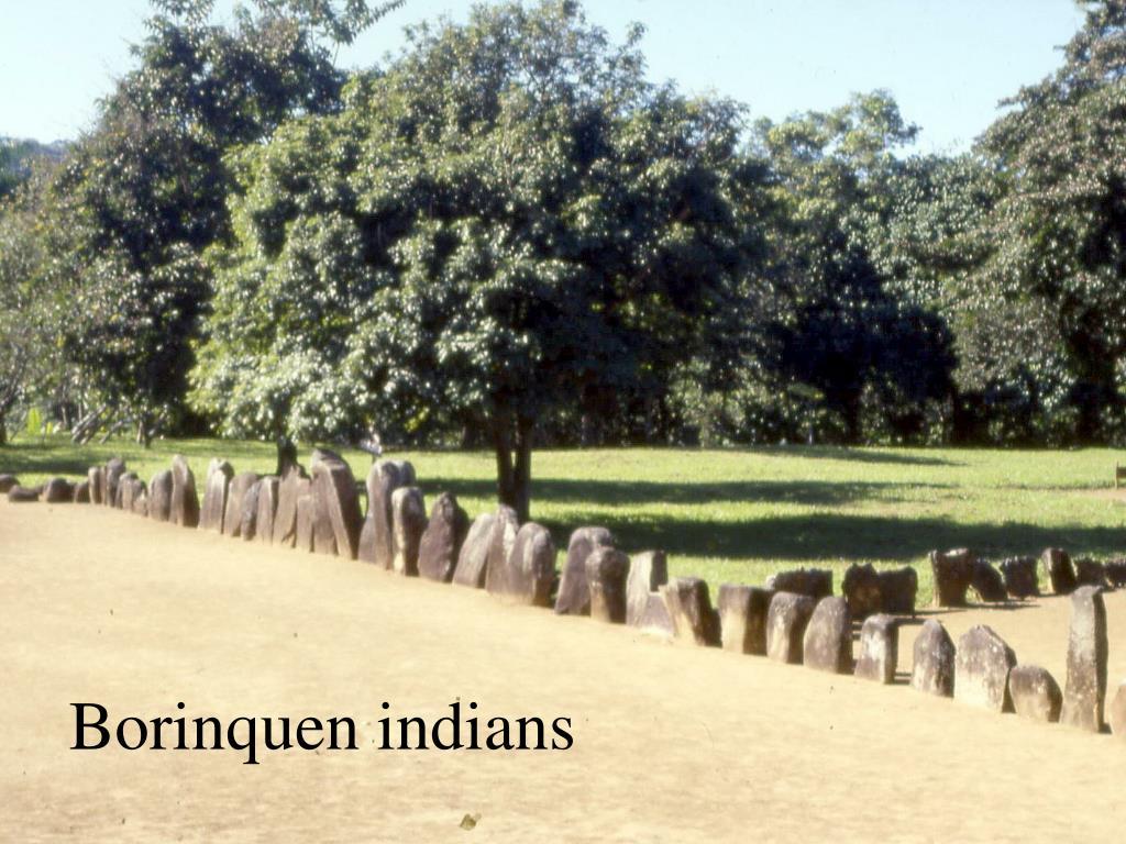 Borinquen indians