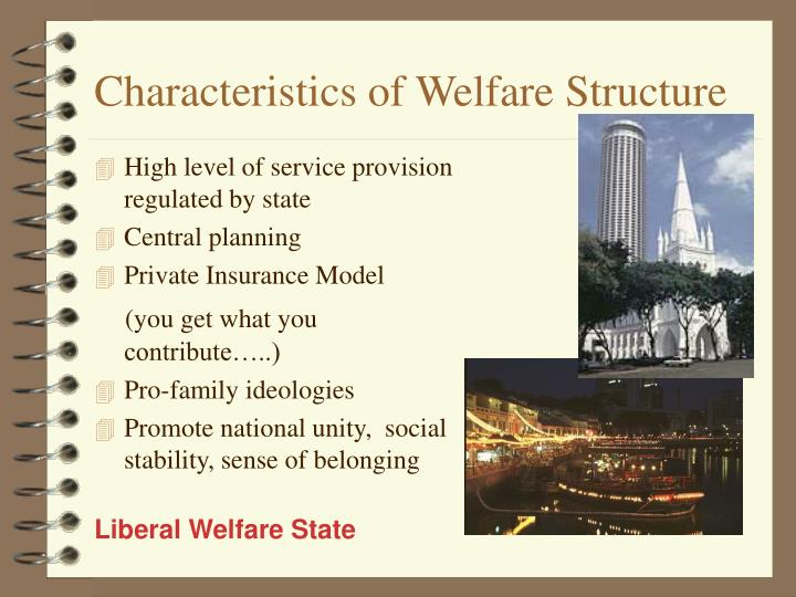 Characteristics of Welfare Structure