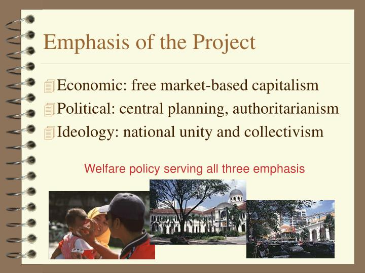 Emphasis of the Project