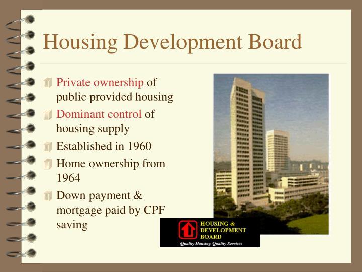 Housing Development Board