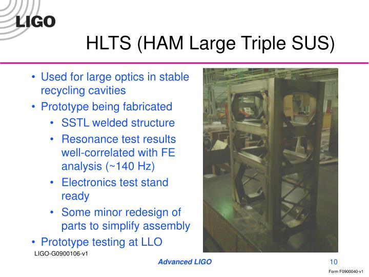 HLTS (HAM Large Triple SUS)