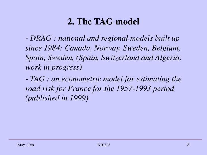 2. The TAG model