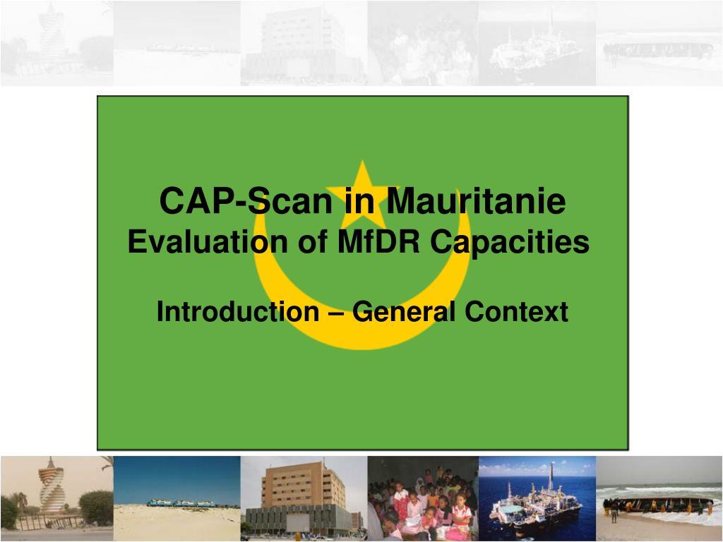 CAP-Scan in Mauritanie
