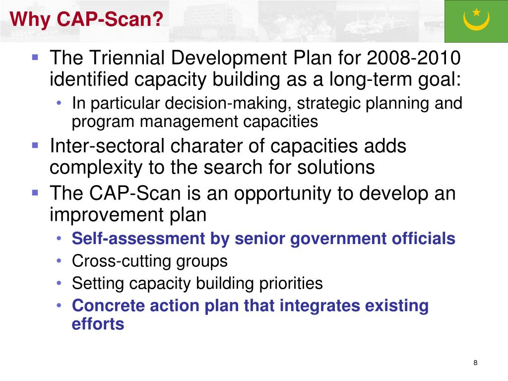 Why CAP-Scan?