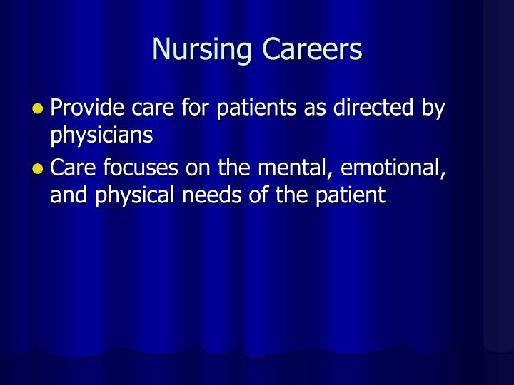 Nursing Careers
