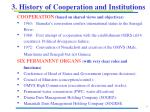 3 history of cooperation and institutions