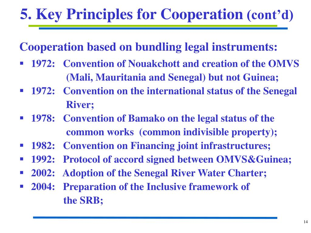 Cooperation based on bundling legal instruments: