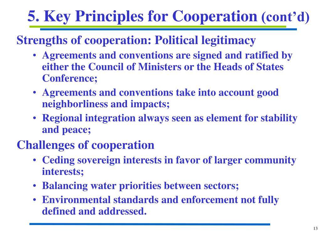 Strengths of cooperation: Political legitimacy