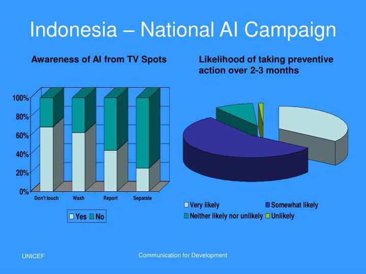 Indonesia – National AI Campaign