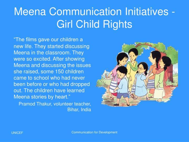 Meena Communication Initiatives -