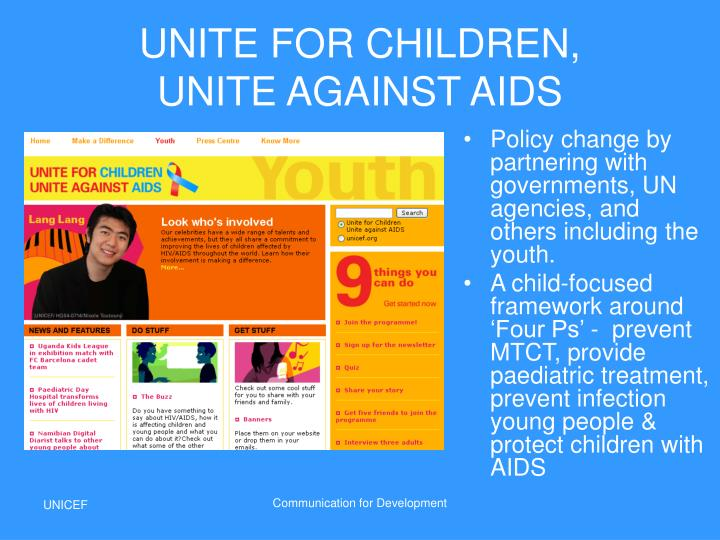 UNITE FOR CHILDREN,
