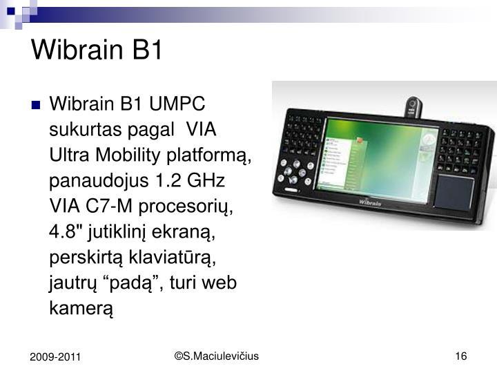 Wibrain B1