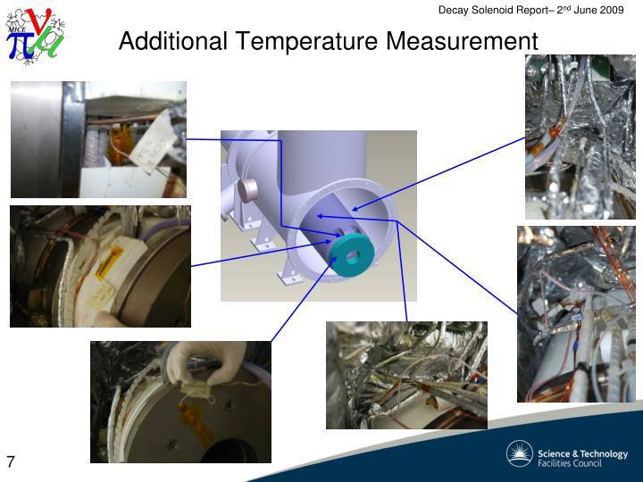 Additional Temperature Measurement