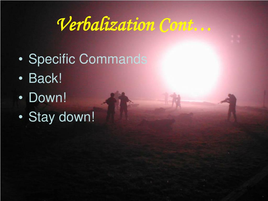 Specific Commands