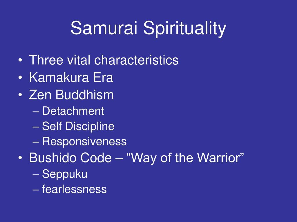 Samurai Spirituality