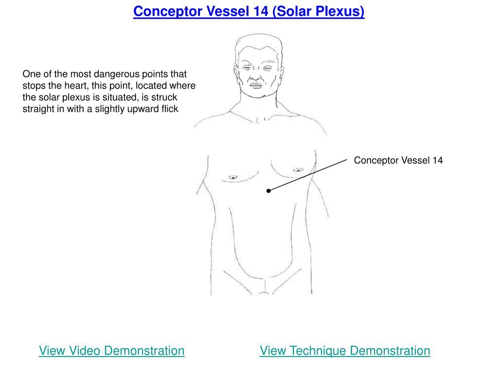 Conceptor Vessel 14 (Solar Plexus)