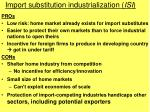 import substitution industrialization isi