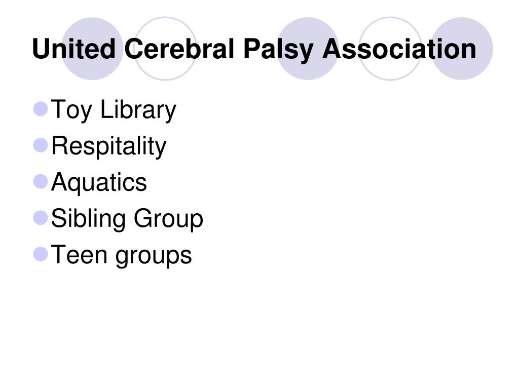 United Cerebral Palsy Association