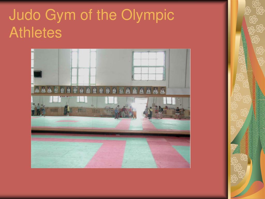 Judo Gym of the Olympic Athletes