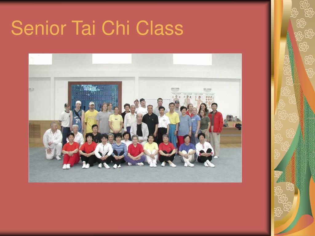 Senior Tai Chi Class