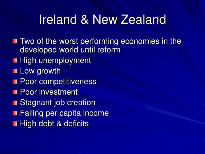 Ireland & New Zealand