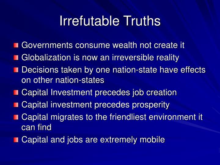 Irrefutable Truths
