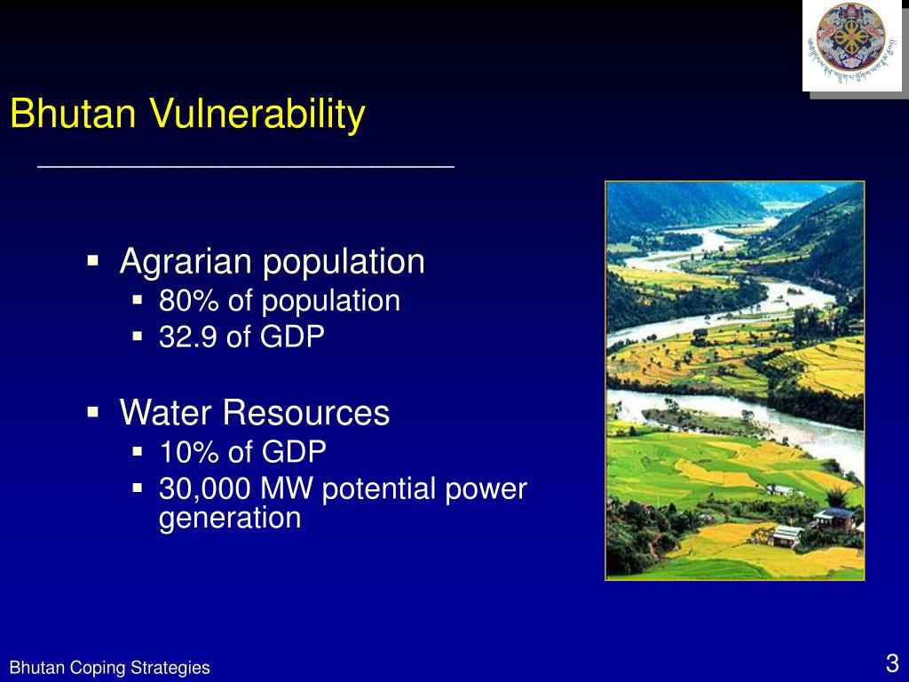 Bhutan Vulnerability