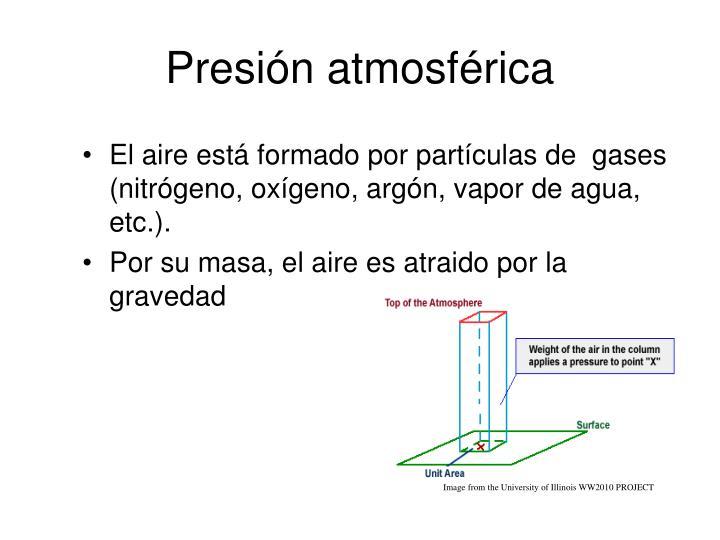 Presión atmosférica