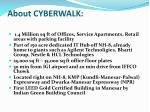 about cyberwalk