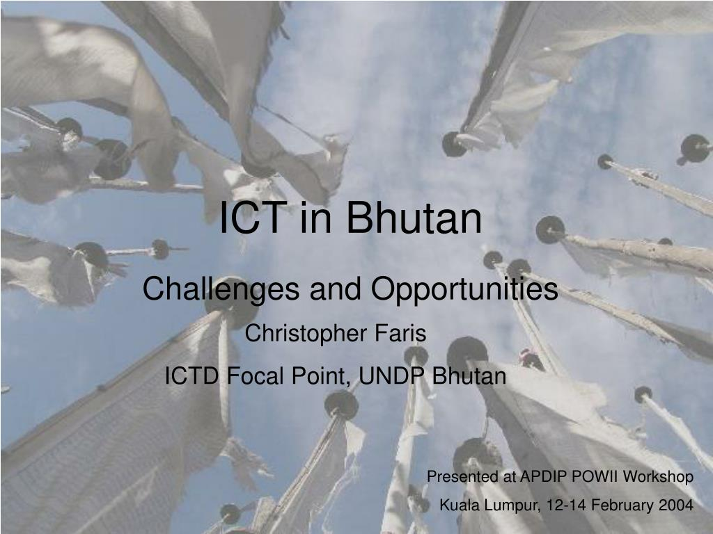 ICT in Bhutan