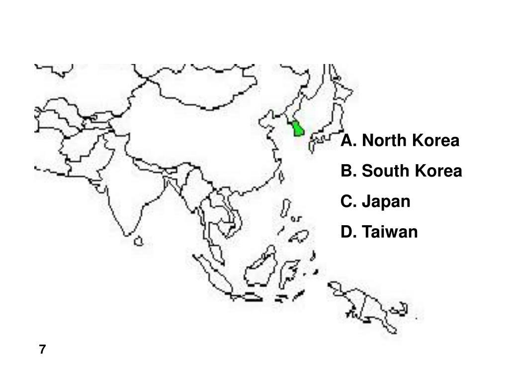 A. North Korea