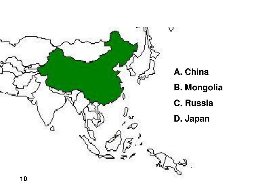 A. China