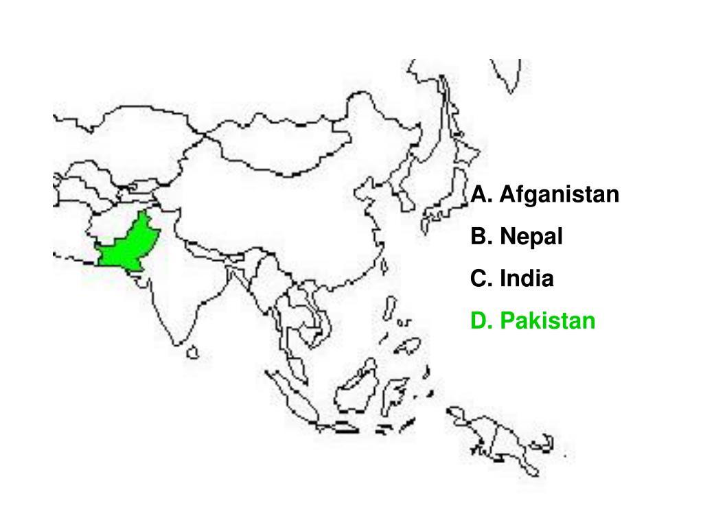 A. Afganistan