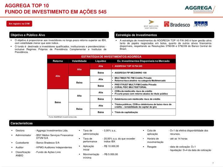 AGGREGA TOP 10