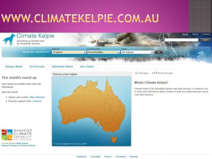 www.climatekelpie.com.au