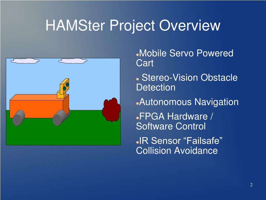 HAMSter Project Overview