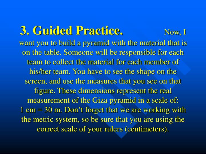 3. Guided Practice.