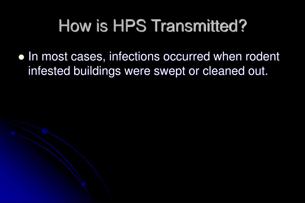 How is HPS Transmitted?
