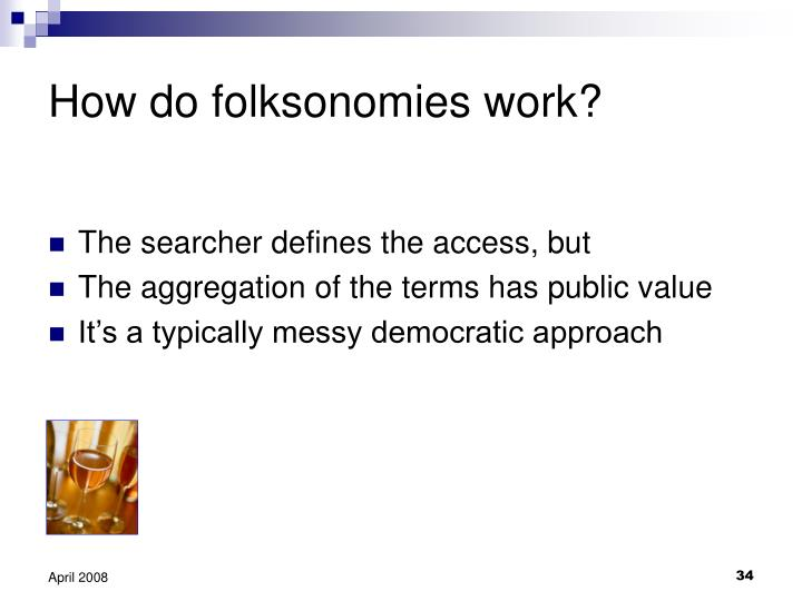 How do folksonomies work?