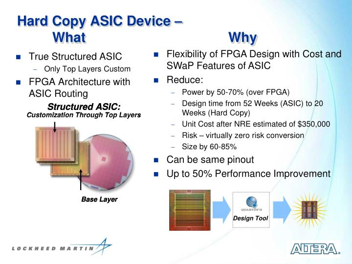Hard copy asic device what why