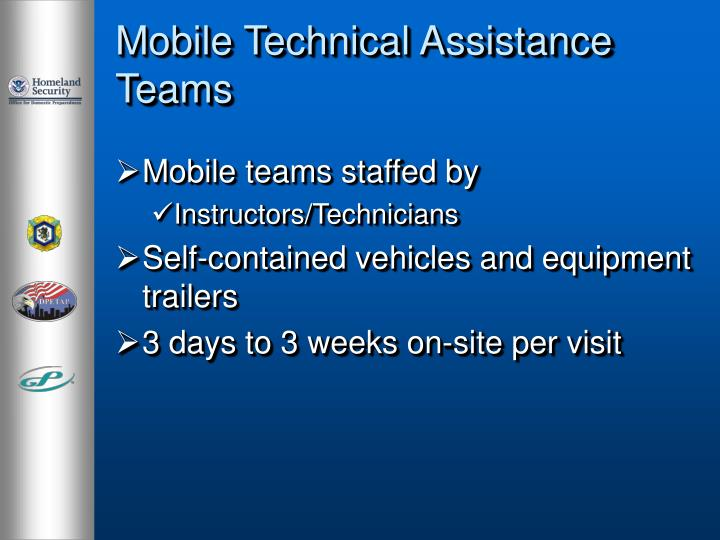 Mobile Technical Assistance Teams
