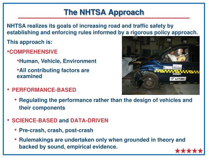 The NHTSA Approach