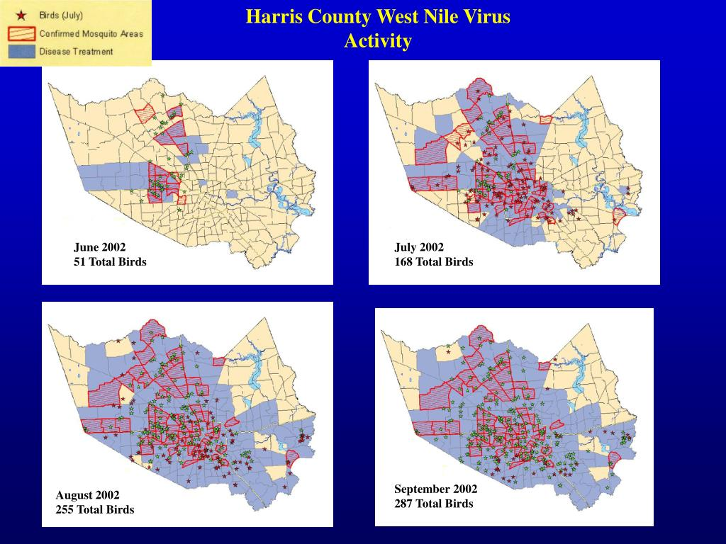 Harris County West Nile Virus Activity