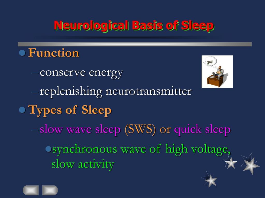 Neurological Basis of Sleep