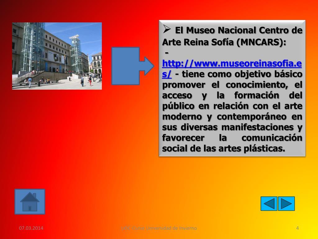 El Museo Nacional Centro de Arte Reina Sofía (MNCARS