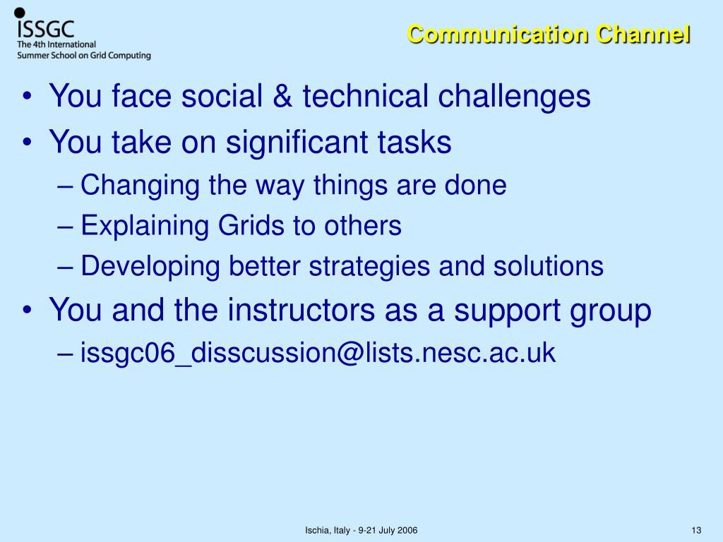 Communication Channel
