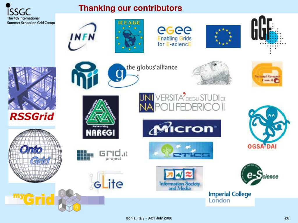 Thanking our contributors
