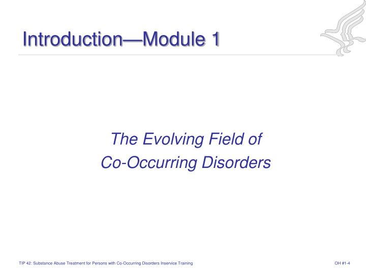 Introduction—Module 1